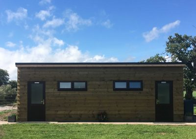 Pitch and Canvas | Glamping and Camping in Cheshire | Restored bathroom block