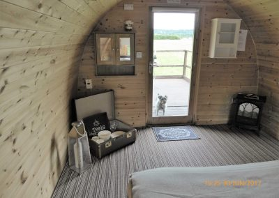 Pitch and Canvas | Glamping and Camping in Cheshire | Furnished luxury pod