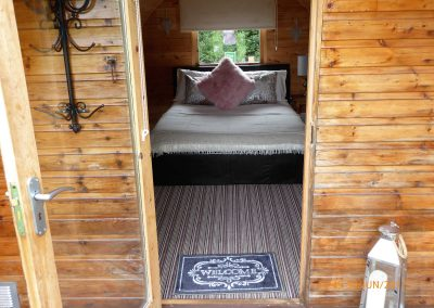 Pitch and Canvas | Glamping and Camping in Cheshire | Luxury pod inside