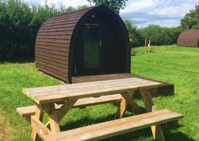 Pitch and Canvas | Glamping and Camping in Cheshire | Picture of glamping pods