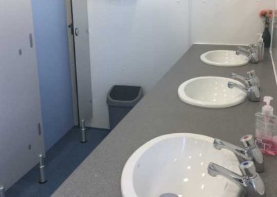 Pitch and Canvas | Glamping and Camping in Cheshire | Picture of bathroom
