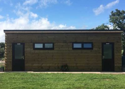 Pitch and Canvas | Glamping and Camping in Cheshire | Picture of bathroom facilities