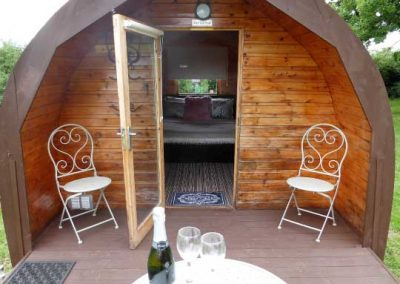 Pitch and Canvas | Glamping and Camping in Cheshire | Picture of camping pods