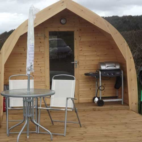 Pitch and Canvas | Glamping and Camping in Cheshire | Picture of pod