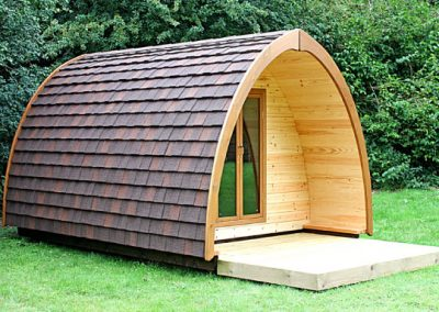 Pitch and Canvas | Glamping and Camping in Cheshire | Picture of Acorn Pod